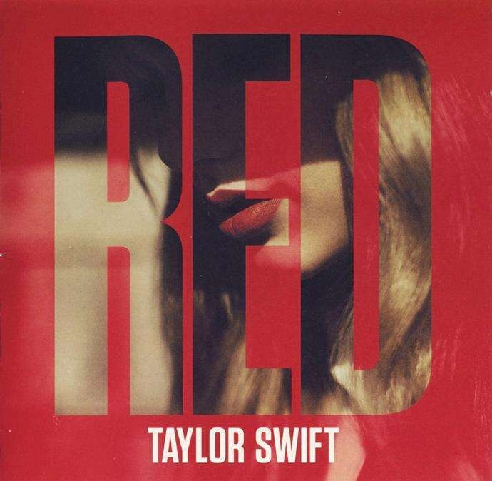CD 翻录Red——Taylor Swift